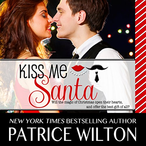 Kiss Me Santa audiobook cover art