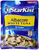 StarKist Albacore White Tuna in Water, 6.4-Ounce Pouch (Pack of 20)