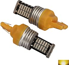 2pcs Premium LED Light Bulbs Canbus Extremely Bright Amber Yellow 3157 4014 High Power 30 LED Car Light Bulbs 2pcs Premium LED Light Bulbs Canbus Auto Replacement Lighting L260