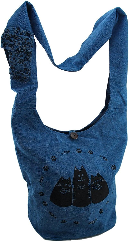 Zeckos , Damen Umhängetasche blau blau B071VJQWVQ B071VJQWVQ B071VJQWVQ  Verkauf Online-Shop d1d8ad