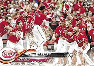 Cincinnati Reds 2018 Topps Complete Mint 23 Card Hand Collated Team Set with Joey Votto, Billy Hamilton and Scooter Gennett Plus