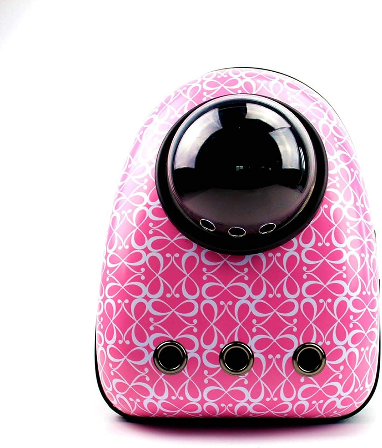 LXFLX New pet backpack cat dog supplies cage out clean portable backpack pet bag (color   A)