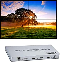 4K 2x2 Video Wall Controller HDMI//DVI Entradas 4 Splicing Pantalla HDMI Salida Video Processor Apoyo 1X2 2X2 1X4