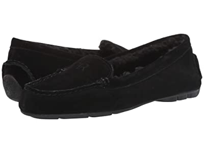 Taryn Rose Kate (Black Suede) Women