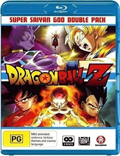 Dragon Ball Z : Battle of Gods / Dragon Ball Z - Super Saiyan God Double Pack ( Dragon Ball Z: Kami to kami ) ( Battle of Gods / Resurrectio [ Origine Australien, Sans Langue Francaise ] (Blu-Ray)