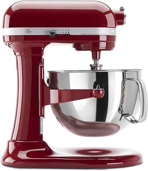 KitchenAid KP26M1XER 6 Qt Professional 600 Series Bowl Lift Stand Mixer Empire Red