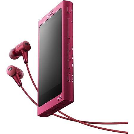 ソニー ウォークマン Aシリーズ 64GB NW-A37HN : Bluetooth/microSD/ハイレゾ対応 ノイズキャンセリング機能搭載 ハイレゾ対応イヤホン付属 ボルドーピンク NW-A37HN P