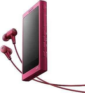 ソニー SONY ウォークマン Aシリーズ 32GB NW-A36HN : Bluetooth/microSD/ハイレゾ対応 ノイズキャンセリング機能搭載 ハイレゾ対応イヤホン付属 ボルドーピンク NW-A36HN P