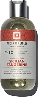ANDERSON LILLEY Sicilian Tangerine Wash, Orange, 8 Ounce