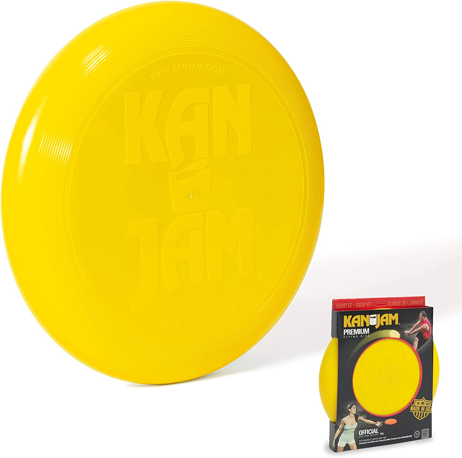 Kan Jam Max 66% OFF Premium Frisbee for Disc Official Games Outdoor We OFFer at cheap prices