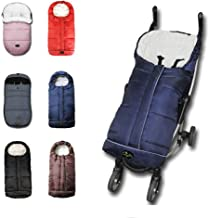 3in1 Baby Sleeping Bag Adaptable for Toddler Strolllers Buggy Pushchair,Cozy Toes, Comfortable,Length Adjustable,Practical Design Makes Us Outstanding,6-36M,Navy Blue