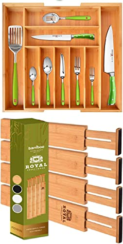 new arrival Silverware sale Drawer Organizer and Drawer Dividers popular 22IN online sale