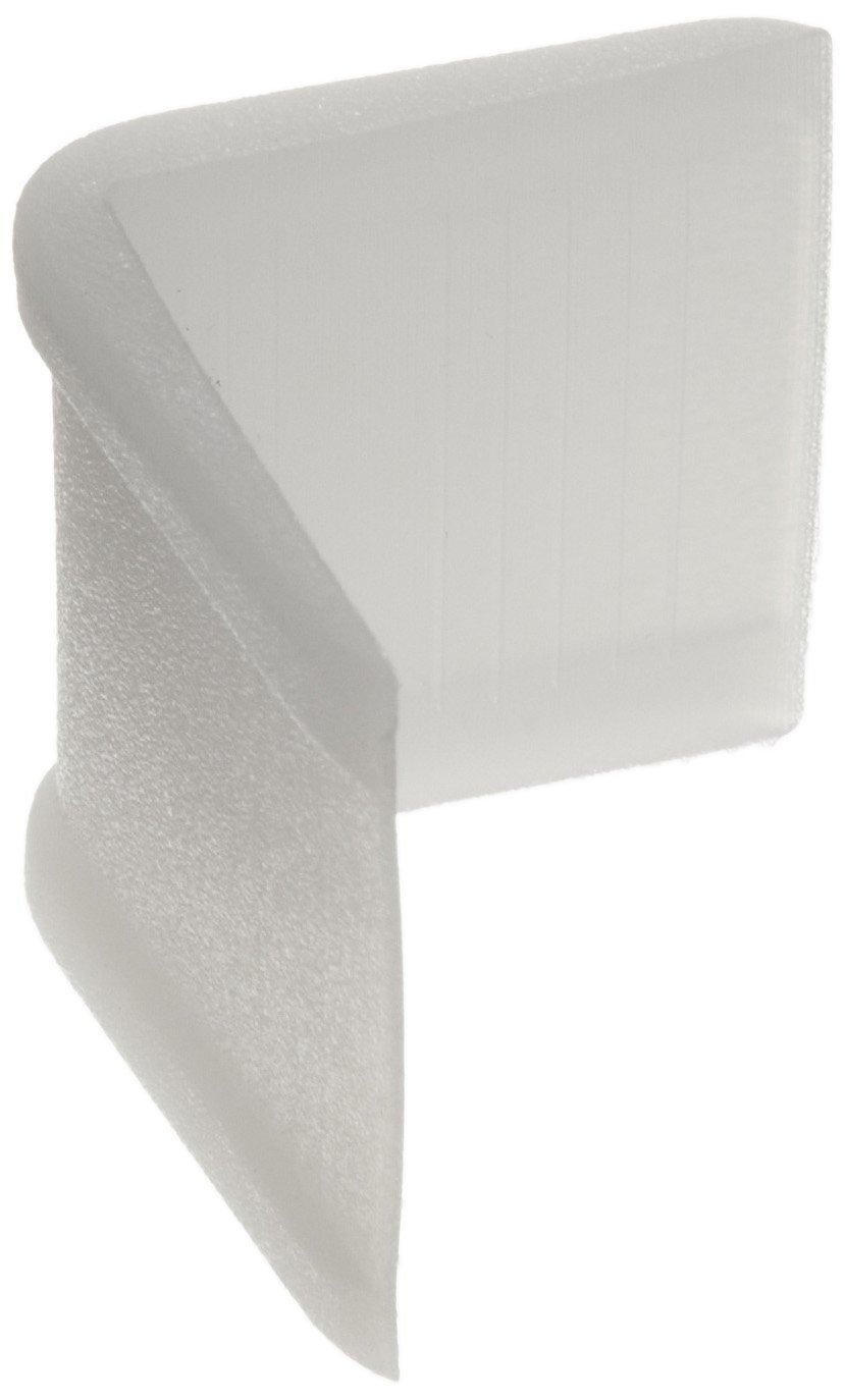 Vestil EDGE-P1 Plastic Edge Guard for Carton and Cargo Straps, 1-1/4
