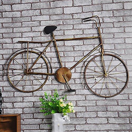 QBDS LOFT Bar decorativo per soggiorno decorativo per biciclette vintage, Internet Café Ferro Decorazione a parete vento industriale L92 * H62cm ciondolo decorativo ( Colore : A )