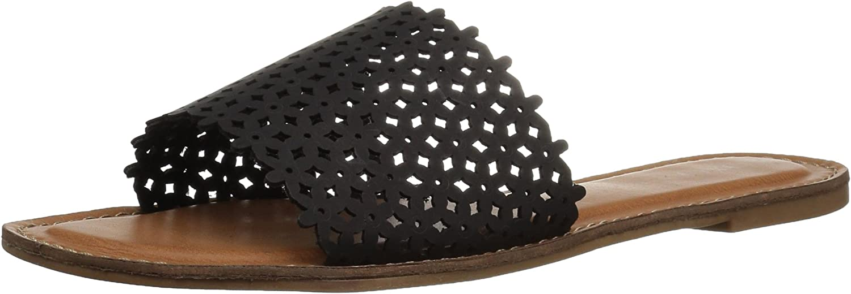 XOXO Womens Rachad Open Toe Casual Slide Sandals