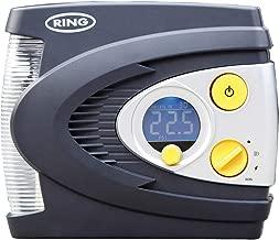 Ring RAC635 Compresor de Aire Digital Preconfigurado con Caja, Adaptador y Luz LED