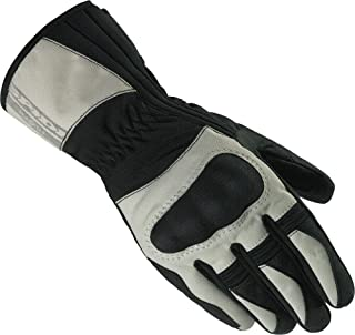 Spidi Voyager H2Out Womans Street Riding Gloves XS Black/Ice LDS