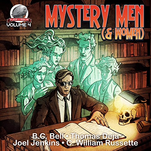 Mystery Men (& Women) Volume Four audiobook cover art