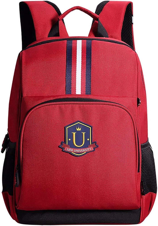 Sunta Primary school schoolbag shoulder bag 812 years old,Red big