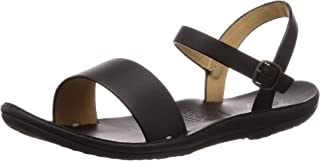 Freewaters Women's Laguna Responsibly Sourced Premium Leather Strappy Dress Sandal Flat