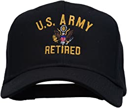 e4Hats.com US Army Retired Military Embroidered Cap