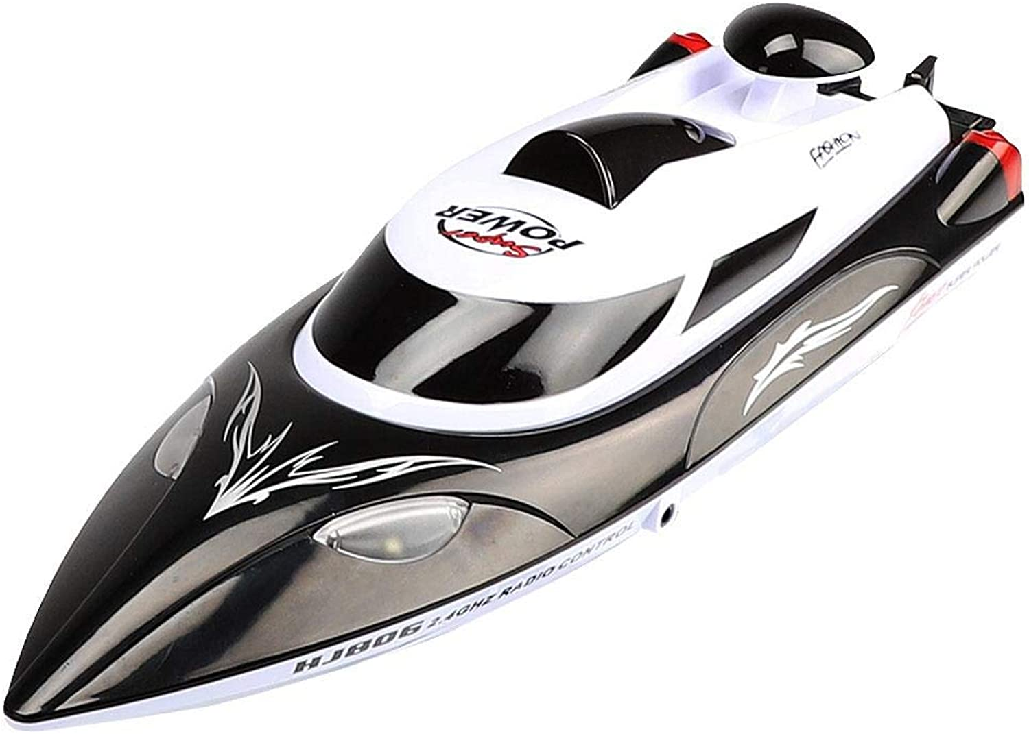 Generic Rc Remote Control Boat Speedboat Swimming Pool Outdoors Racing Boat Novelty Fashion Black