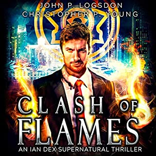 Clash of Flames audiobook cover art