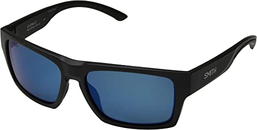 Matte Black/ChromaPop Polarized Blue Mirror Lens