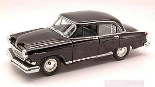 YAT MING YM24211BK GAZ 21 (RUSSIAN CAR) 1970 BLACK 1:24 MODELLINO DIE CAST MODEL