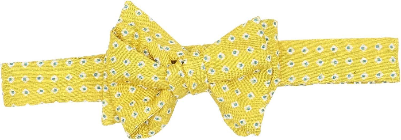Carrot and Gibbs Men's Diamond Squares Pattern Bow Tie