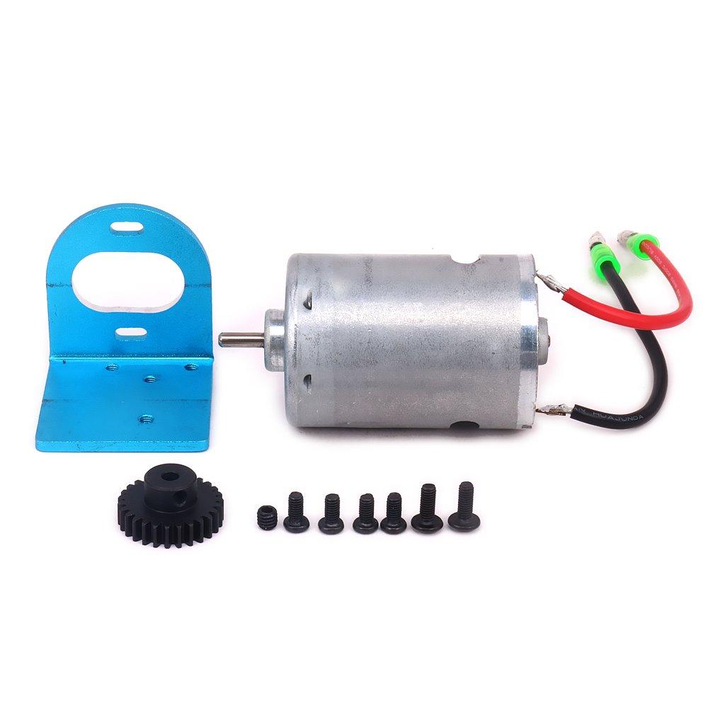 HobbyCrawler 540 Brushed Motor Adjustable Mount W/Fan 27T Ge