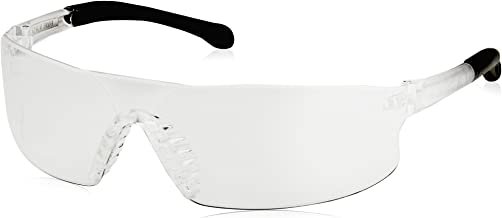 Radians RS1-10 Rad-Sequel Rubber Tipped Lightweight Glasses with Clear Lens, One Size