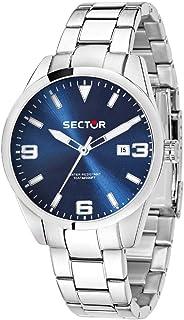 SECTOR Men's R3253486007 Year-Round Analog Quartz Silver Watch