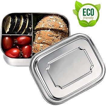 con scomparti variabili verde Schmatzfatz Junior Contenitore porta pranzo per bambini