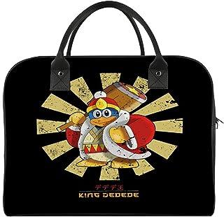 King Dedede Retro Japanese Kirby Travel Duffel Bag Lightweight Large Capacity Portable Luggage Bag Weekender Overnight Bag