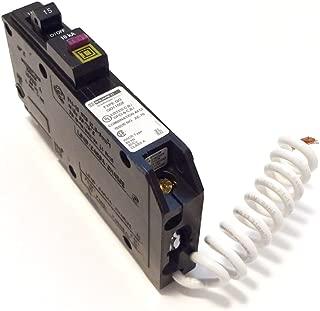 SCHNEIDER ELECTRIC Miniature Circuit Breaker 120V 15A QO115DF Sw Unfused Hd 600V 60A 3P N3R/Grd Lug