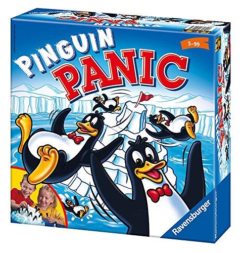 Ravensburger Pinguin Panic Enfants Jeu de compétences motrices Fines – Jeu de compétences motrices Fines pour Enfants, 15 Min, garçon/Fille, 5 année(s), 99 Ans
