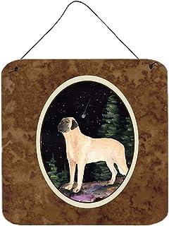 Caroline's Treasures SS8505DS66 Starry Night Anatolian Shepherd Aluminium Metal Wall or Door Hanging Prints, 6x6, Multicolor
