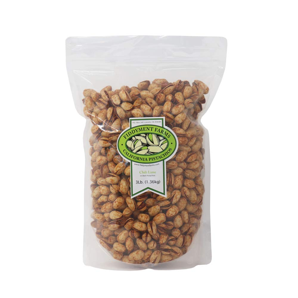 Our shop OFFers the best service Fiddyment Farms 3lb 4 years warranty Chili Pistachios In-shell Lime