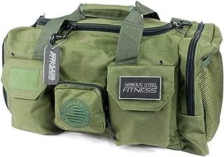 OuLian Gym Duffel Bag Football 3D Sports Lightweight Canvas Travel Luggage Bag