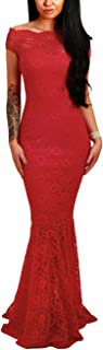 Best formal red lace dress Reviews