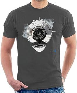 NASA SpaceX Dragon Capsule Docking Men's T-Shirt