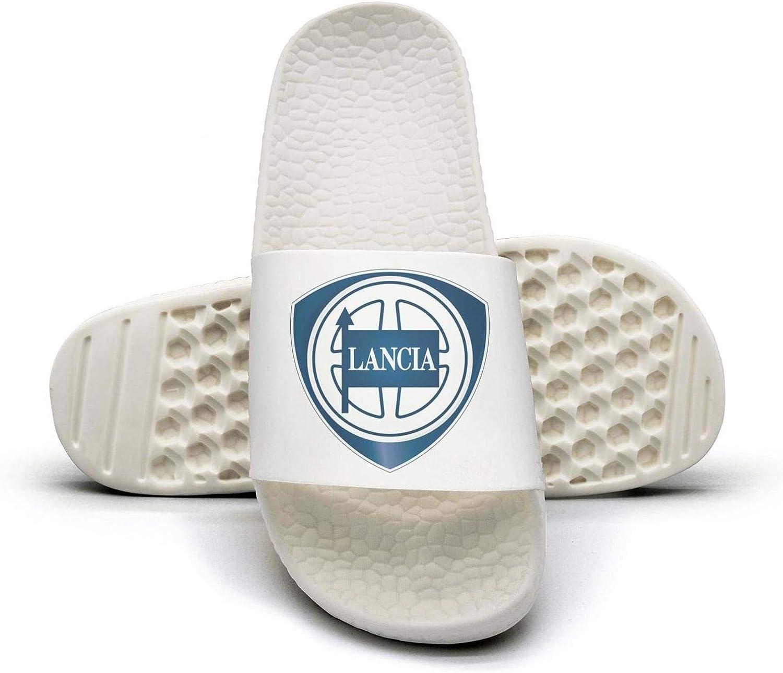 EIGKASL Printed Non-Slip Slippers Slide flip Flop Sandals Lancia-Logo-Symbol-Emblem-Summer Casual for Womens