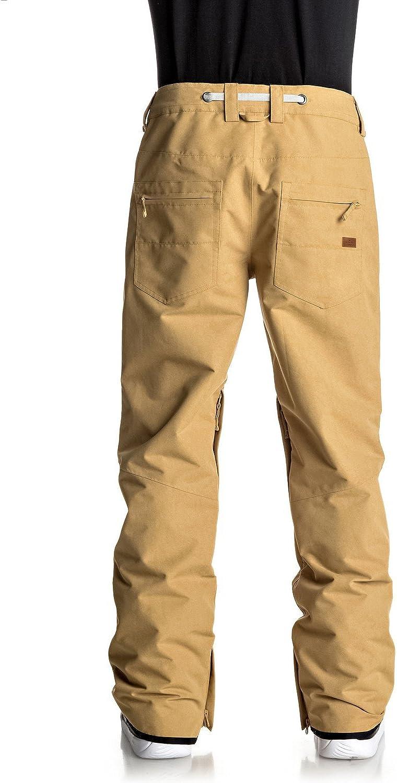 Quiksilver Forest Oak - Pantalon de Snow pour Homme EQYTP03067 Mustard Gold