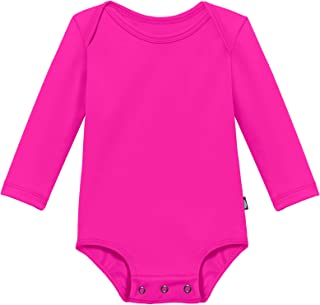 City Threads Baby Rash Guard Long Sleeves Sun Protection Beach Wear with UPF50+ Made in USA