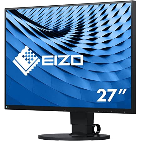 Eizo Flexscan Ev2780 Bk 68 5 Cm 27 Zoll Ultra Slim Monitor Hdmi Usb 3 1 Hub Usb 3 1 Typ C Displayport 5 Ms Reaktionszeit Auflösung 2560 X 1440 Schwarz Elektronik