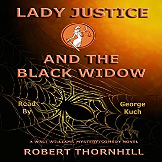 Lady Justice and the Black Widow audiobook cover art
