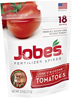 Jobe's Tomato Fertilizer Spikes, 18 Spikes