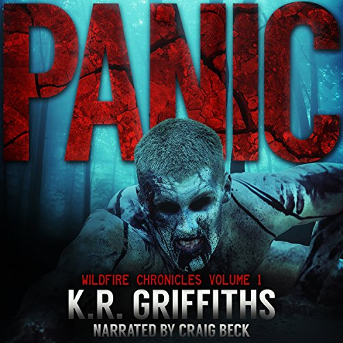 Panic audiobook cover art