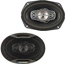 """$31 » Blaupunkt GTX695 6"""" x 9"""" 5-Way Coaxial Car Speakers 750 Watts 4 Ohm (Renewed)"""